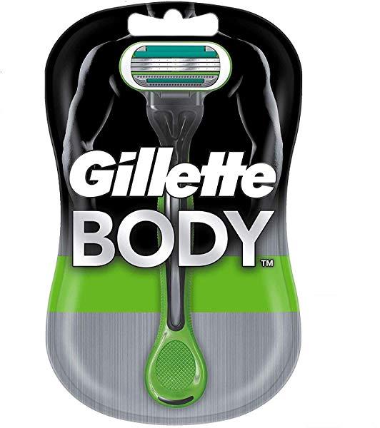 Pack 3 maquinillas Gillette BODY desechables