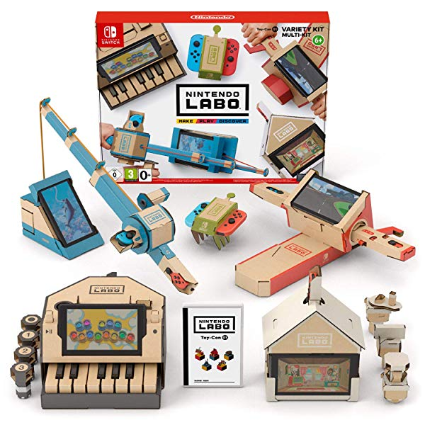 Switch Nintendo Labo Toy-Con 01 Kit variado