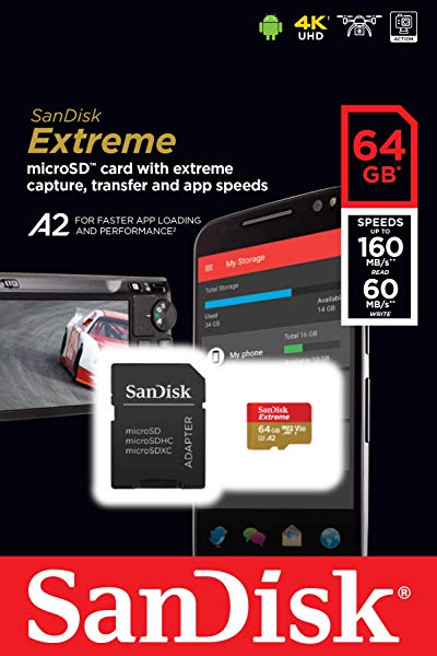 Tarjeta microSDXC SanDisk Extreme
