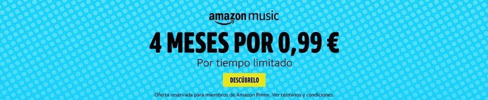 Amazon music Unlimited por menos de un €