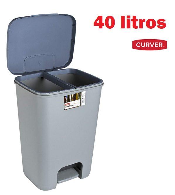 Cubo de Basura Curver Essentials de 40 litros