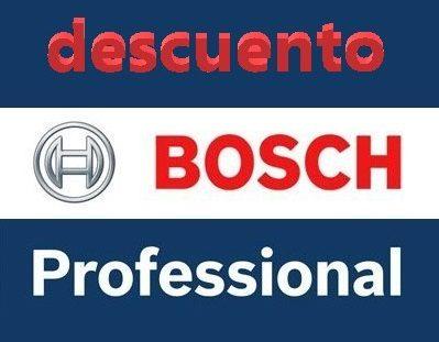 Productos Bosch Professional con descuento.