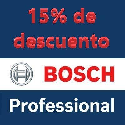15% de descuento Bosch Professional
