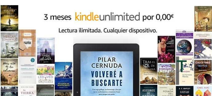 3 meses gratis Kindle Unlimited