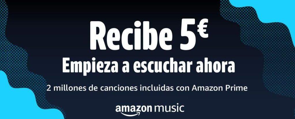 5€ para Amazon por escuchar una canción