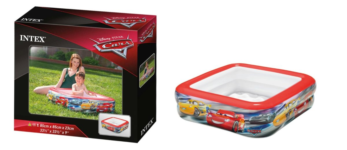 Piscina hinchable Intex infantil con licencia CARS
