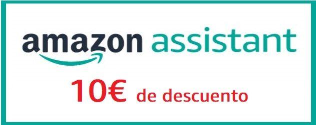 Instala Amazon Assistant y obtén 10€ de descuento