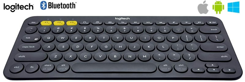 Logitech K380 - Teclado Bluetooth para Windows, Mac, Chrome y Android