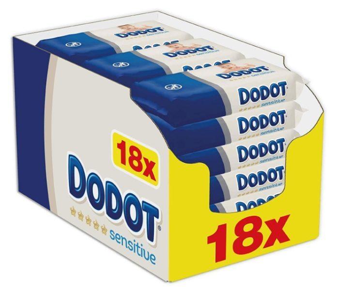Pack de 972 Toallitas Dodot Sensitive