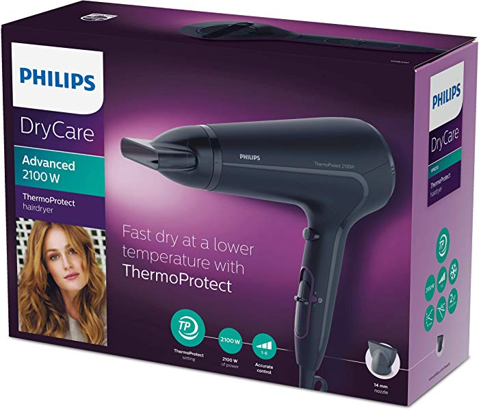 Secador de Pelo Philips Thermoprotect HP8230