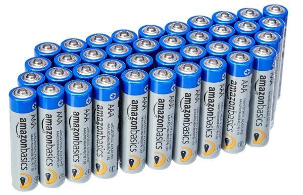 AmazonBasics - Pilas alcalinas de uso industrial (40 unidades)