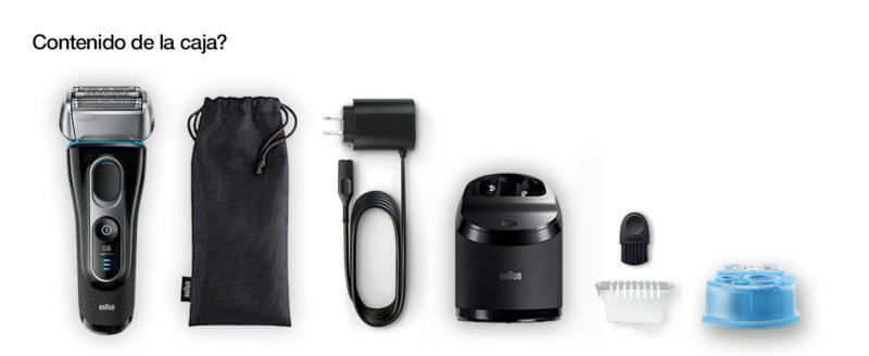 Braun Series 5 5197 Clean&Charge contenido caja