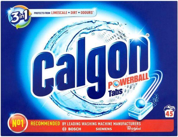 Calgon 45 Pastillas Calgón Powerball Tabs 3 en 1