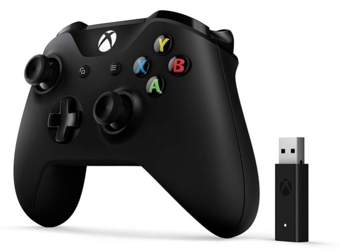 Microsoft Mando Xbox + Adaptador Inalámbrico (PC, Xbox One S)