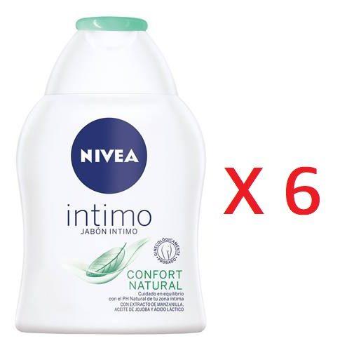jabón íntimo NIVEA Confort natural