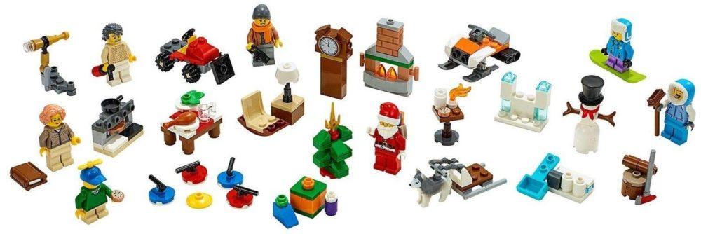 Calendario de Adviento LEGO City Town 2019 (60235) detalles