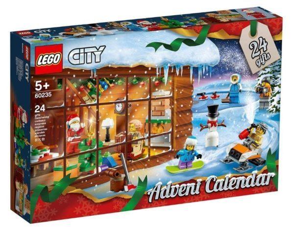 Calendario de Adviento LEGO City Town 2019 (60235)
