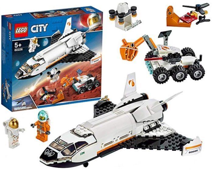 Lego City Lanzadera Científica a Marte (60226)