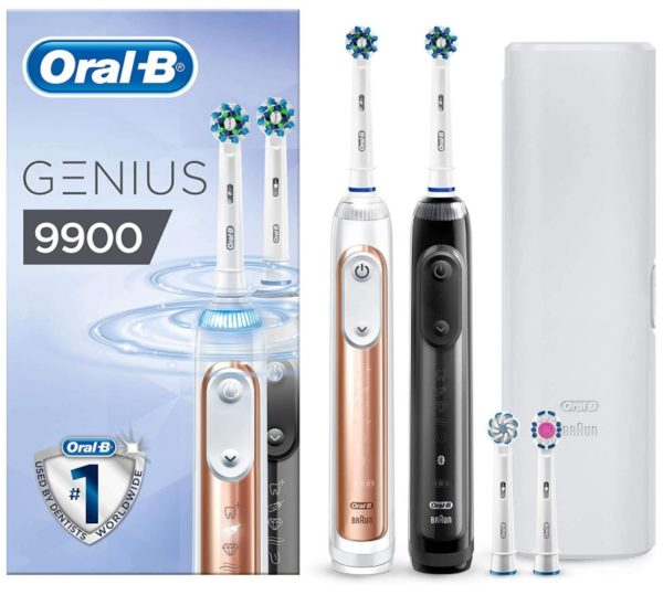Oral-B Genius 9900 Cepillo de Dientes Eléctrico con Tecnología de Braun