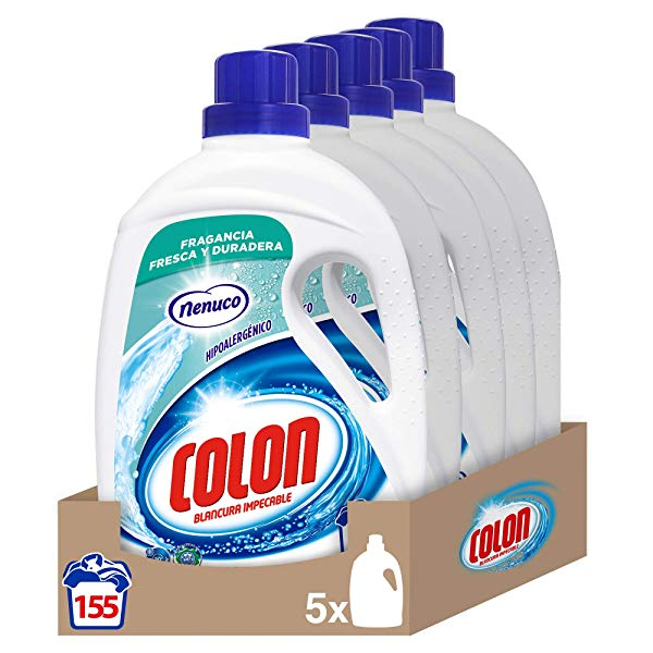 Pack de 5 Detergente Colon Gel Fragancia Nenuco