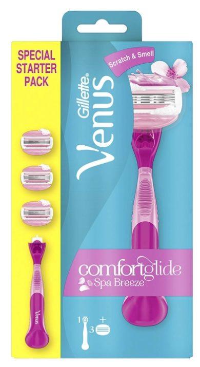 Pack iniciación Gillette Venus Comfortglide Spa Breeze