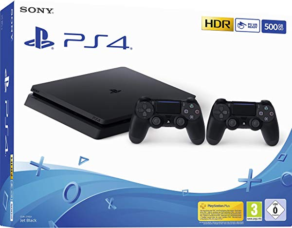 PlayStation 4 (PS4) de 500 Gb y 2 Mandos Dual Shock 4