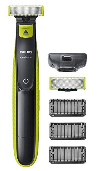 Recortador de barba Philips OneBlade QP2520 +3 peines