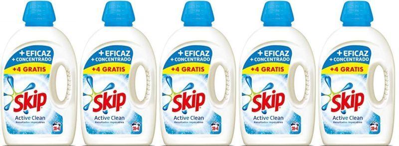 Skip Active Clean Detergente Líquido para Lavadora