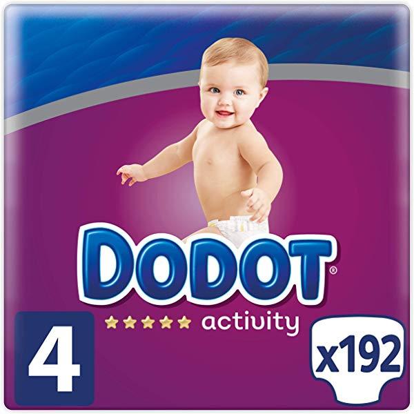 192 Pañales Dodot Activity talla 4