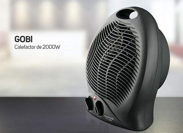 Calefactor Taurus Gobi de 2000W