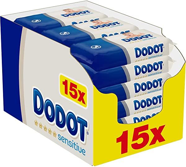 Pack de 15 Dodot Sensitive