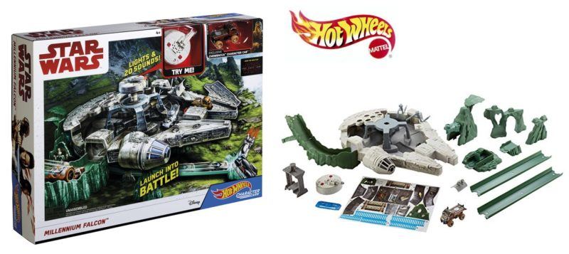 Halcón Milenario Star Wars Hot Wheels