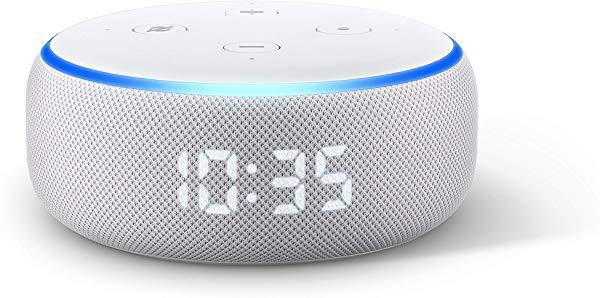 Nuevo Echo Dot (3.ª generación) - Altavoz inteligente con reloj y Alexa
