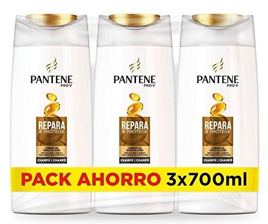 Pack de 3 champús Pantene Pro-V Repara & Protege de 700ml