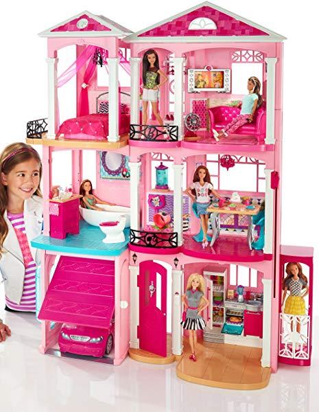 Supercasa De Barbie con accesorios (Mattel DLY32)
