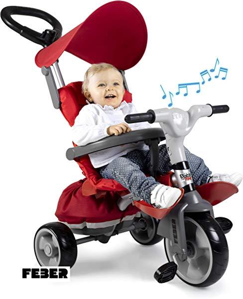 Triciclo evolutivo FEBER Baby Plus Music Prime