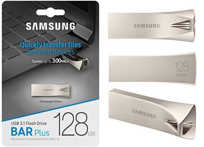 Memoria USB Samsung BAR Plus de 128Gb
