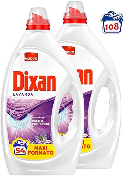 Pack 2 Detergente Líquido Dixan Lavanda