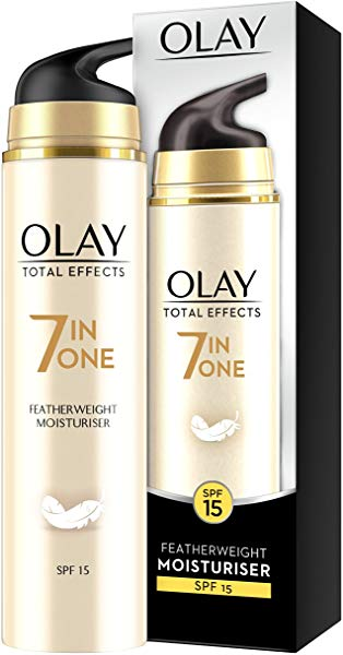 Crema Hidratante Olay Total Effects Textura Ligera SPF15