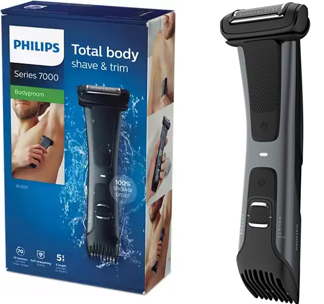 Afeitadora corporal Philips BodyGroom BG7020 series 7000