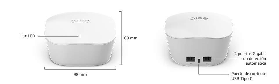 Amazon eero Router Extensor Wifi de Maya detalles