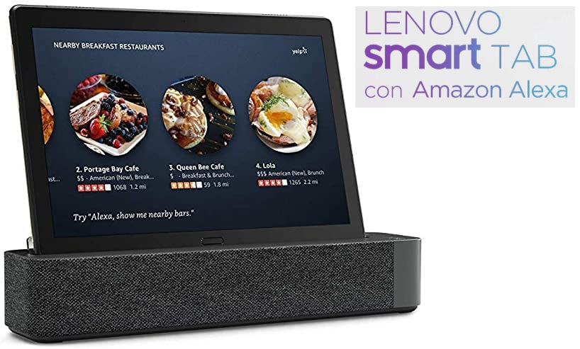 Lenovo Smart TabM10 + Altavoz Dolby Atmos