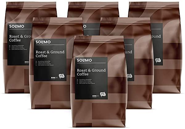 Pack 6 Café Solimo de Amazon
