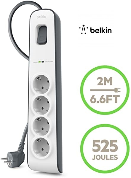 Regleta Belkin SurgeStrip BSV400