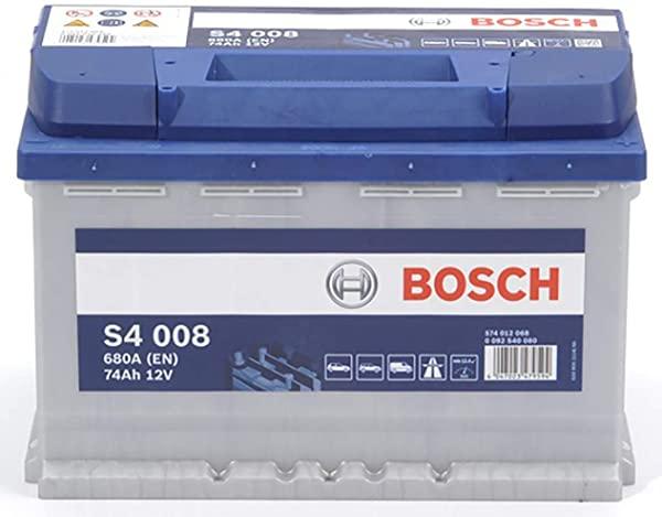 Batería de automóvil BOSCH S4 008 de 74Ah 680A