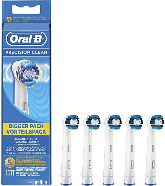 Pack de 5 cabezales Oral-B Precision Clean