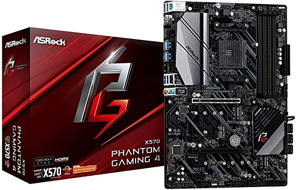 Placa base Asrock X570 Phantom Gaming 4