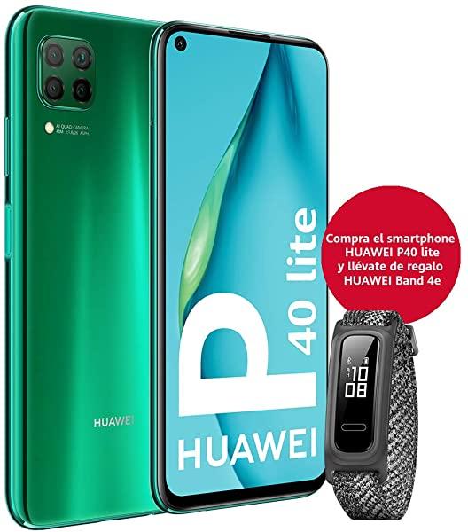 Smartphone HUAWEI P40 Lite + Band 4e