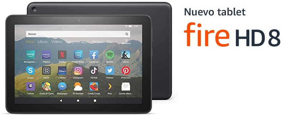 ¡Nueva Tablet de Amazon Fire HD 8!