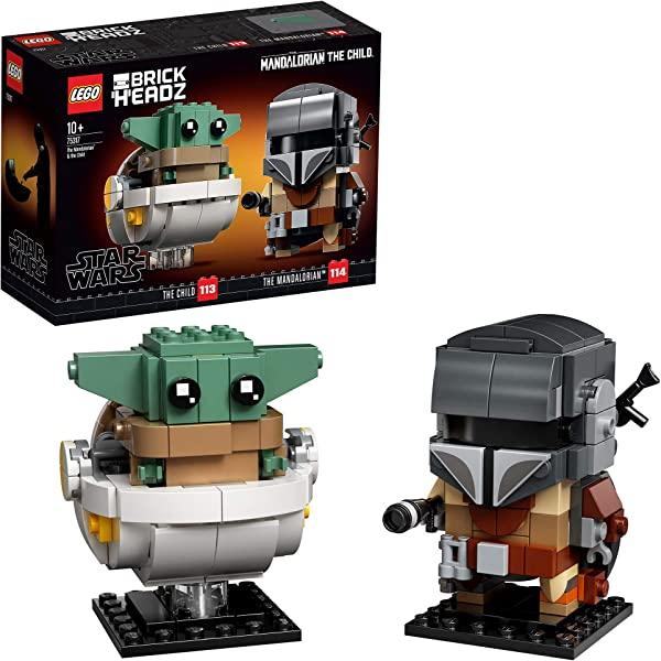 LEGO Star Wars BrickHeadz El Mandaloriano y el Niño (75317)
